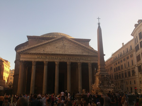 The Pantheon - incredible is all I can say