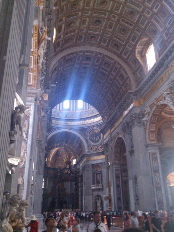 One more inside the basilica